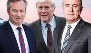 Jean-Baptiste Lemoyne, Michel Veunac et Didier Guillaume