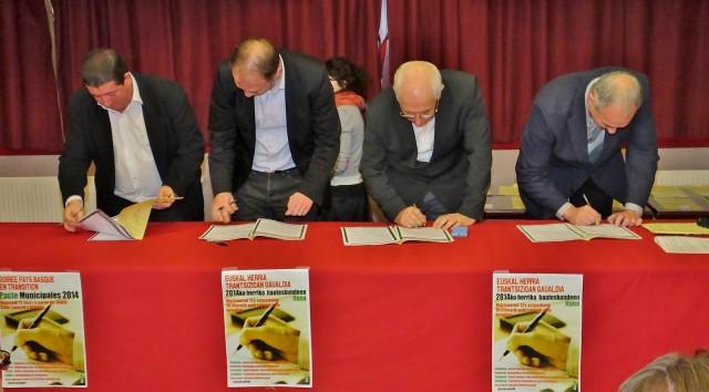 Soirée de signature du Pacte 2014.