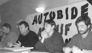 La une du n° 1559 du 7 janvier 1999 sur le combat de LEIA contre l'autoroute bas-navarraise.