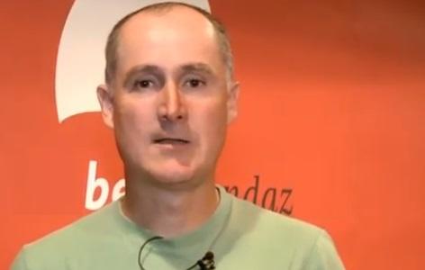 Iker Elosegi Euskal Herriko Laborantza Ganbarako koordinatzailea eta mugaz gaindiko harremanen arduraduna