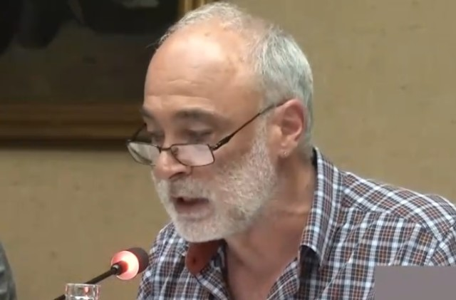 Cliquer sur l'image pour entendre l'intervention complète d'Alain Duzert, lors du débat du conseil municipal de Bayonne qui eut lieu le 24 avril 2018,