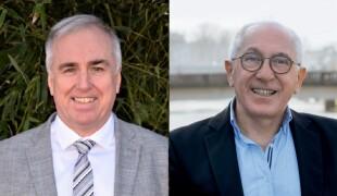 Alain Iriart et Jean-René Etchegaray