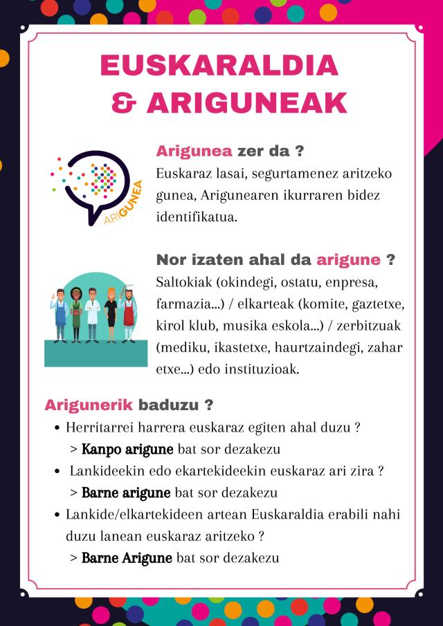 Euskaraldia & Ariguneak (1)