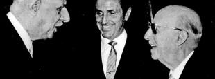 Le 8 juin 1970, Franco rencontre à Madrid Charles de Gaulle, qui racontera son entretien à Michel Droit : « Je lui ai dit ceci : en définitive, vous avez été positif pour l'Espagne. Et c'est vrai, je le pense. Et que serait devenue l'Espagne si elle avait été la proie du communisme ? »