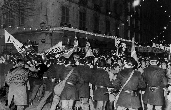 29 décembre 1970, immense manifestation à Bayonne pour le procès de Burgos.
