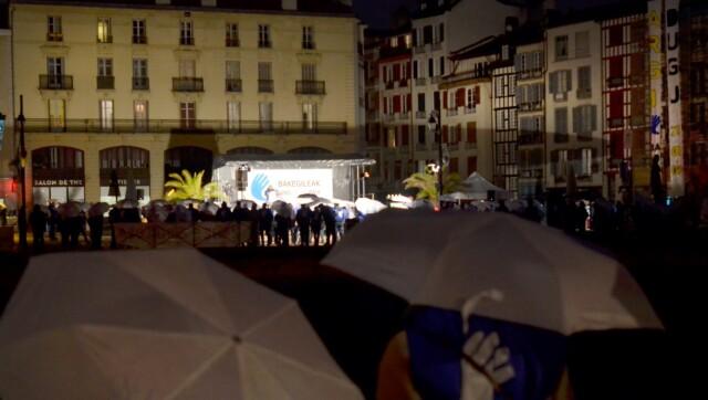 Prisonniers basques : 2000 personnes à la chaine humaine de Bayonne ce samedi 9 janvier 2021