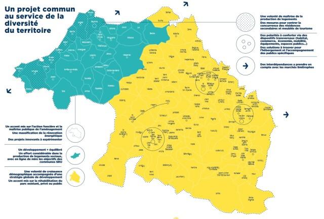 Cliquer sur l'image pour télécharger le résumé non technique du PLH Pays Basque.