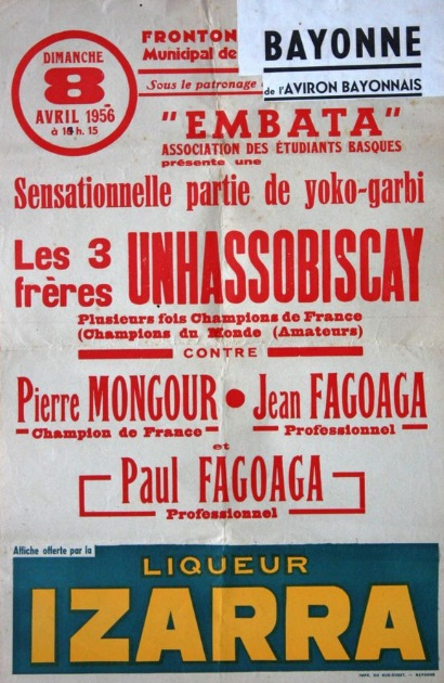 Unhassobiscay Embata 1956