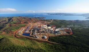 """L'usine de Nickel de Vale sur le site de Goro ou """"usine du Sud"""" a été cédée à un exploitant privé en 1993."""