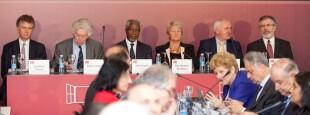 La Conférence internationale de paix de Aiete est une déclaration intégrale sur la paix au Pays basque, qui s'est tenue lundi 17 octobre 2011 à Saint-Sébastien. Aiete est l'ancienne résidence de Franco.  Une importante déclaration, dite « Déclaration de Aiete » a été présentée par l'ancien Secrétaire général de l'ONU et prix Nobel de la Paix Kofi Annan; l'Irlandais Gerry Adams, président du Sinn Féin ; l'ancien Premier ministre irlandais Bertie Ahern, l'ancien ministre français de l'Intérieur Pierre Joxe ; l'ancienne première ministre norvégienne, Gro Harlem Brundtland ; et l'ancien chef de cabinet de Tony Blair, Jonathan Powell.