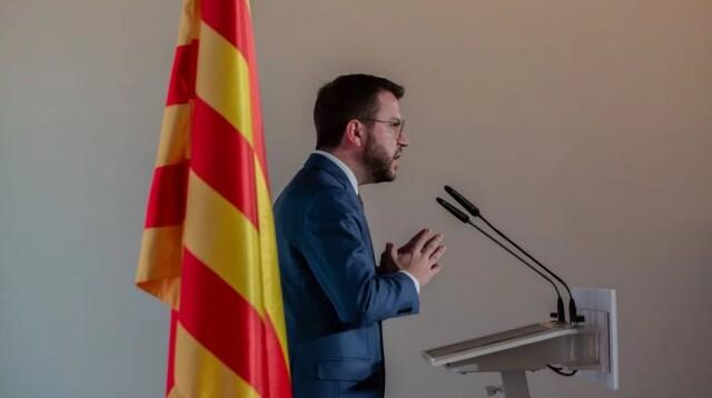 Pere Aragonès leader d'ERC a en charge de constituer le futur gouvernement catalan.