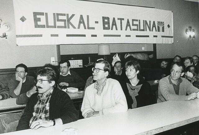 Iulen Madariaga au congrès d'Euskal Batasuna, janvier 1994.