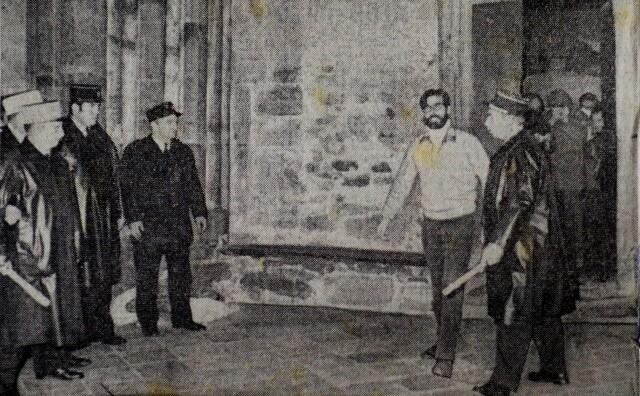Iulen Madariaga quitte la cathédrale et part en prison, après sa grève de la faim.