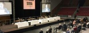 La Communauté d'agglomération Pays Basque réunie en conseil.