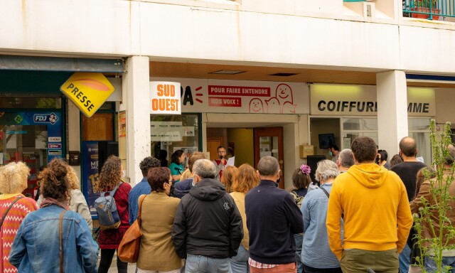 160 personnes à l'inauguration de la permanence d'Alda