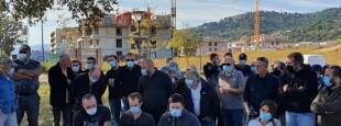 Les membres de Core in Fronte dénoncent le futur PLU de Borgu situé à proximité de Bastia.