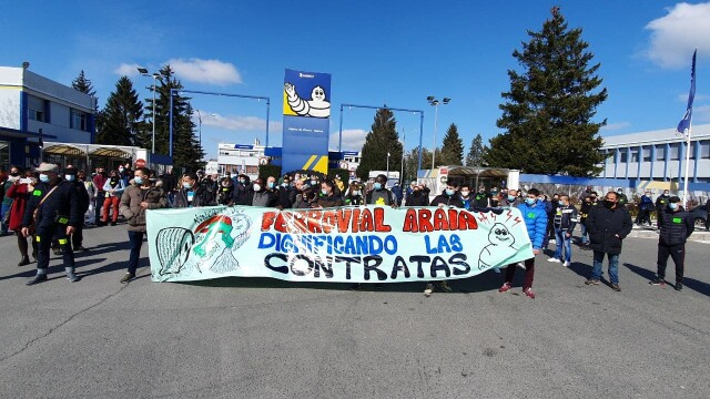 David contre Goliath, la grève victorieuse menée contre une multinationale par des travailleurs immigrés membres du syndicat basque ELA.