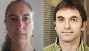 Saroia Galarraga eta Xabi Larralde, Sortuko kideak