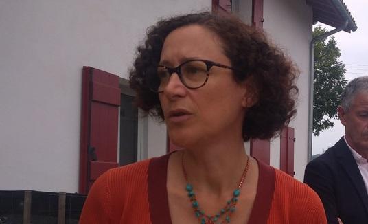Emmanuelle Wargon, ministre du logement et invitée des Entretiens d'Intxauseta