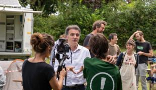Eric Piolle a animé une formation sur le Plan Climat du bassin grenoblois lors du camp climat de Bizi ! le 24 juillet dernier.